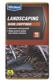 Bark Chippings 270L £14 instore @ Wickes (3x90L)