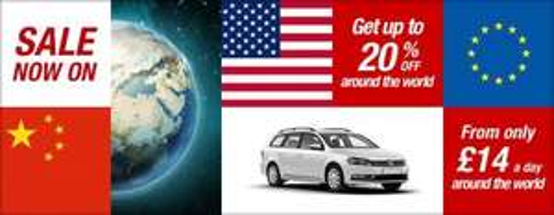 upto 20% off worldwide car rental with Avis