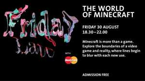 Free Minecraft Museum Expo at A and M London
