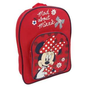 Mad about Minnie backpack £2.99 instore at Sainsburys