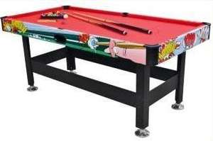 Half Price Hy-Pro 6ft Icon Pool Table £58.94 delivered at Argos!