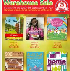 The book people warehouse sale, books from £1