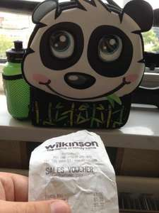 Kids Panda lunch box marked at £6 scanned at £1 possible nationwide @ Wilko