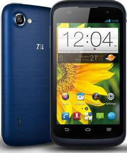 "ZTE Blade V 4"" Quad core PAYG phone - £99.99 inc £10 Topup @ Virgin Mobile. £81.99 in store for virgin media customers inc £10 Topup"