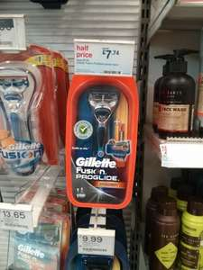 Gillette Fusion ProGlide Power Razor - Half Price £7.74 @ Boots (In Store+Online with free gift)