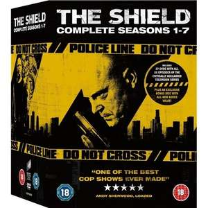 The Shield: Complete Series 1 - 7 Box Set (Digistack) (28 Discs) DVD £24.99 @ Play via Zavvioutlet