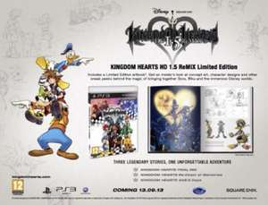 Kingdom Hearts HD Limited Edition [PS3] £26 @Amazon