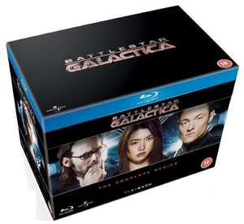 Battlestar Galactica: The Complete Series [Blu-ray] - £34.34 @ Amazon