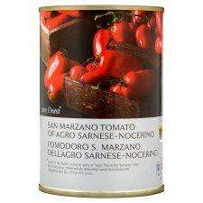 Tesco Finest San Marzano Peeled Plum Tomatoes 400G for £0.25
