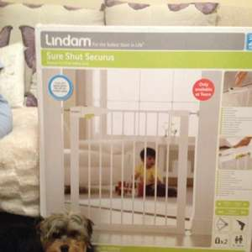 Lindam sure shut securus safety gate £7.50 in store @ Tesco