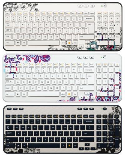 ** Logitech Wireless K360 Keyboard in Paisley / Floral Foray / Ink Gears designs - £9.99 @ Argos (R&C) **
