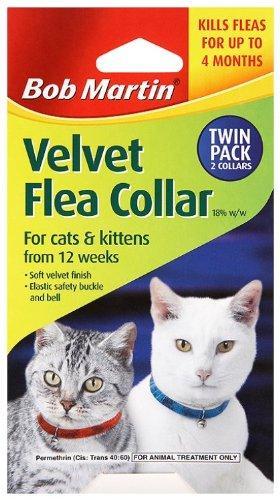 Bob Martin velvet flea collars (twin pack) - £1.49 @ Home Bargains