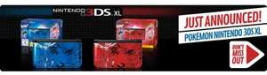 Limited Edition Pokémon Nintendo 3DS XL Red/Blue - £180 @ GAME