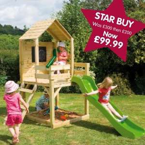 Summer Playhouse Was £300 then £200 now £99.99 + TP Activity Play Pack worth £25 + FREE Delivery @ TP toys
