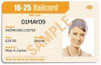 1 Year Railcard for 16-25 year olds £26.40 @ 16-25 Railcard
