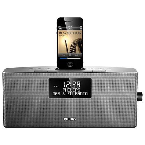 Philips AJB7038D DAB/FM iPod Dock, Silver £79.95 @ John Lewis