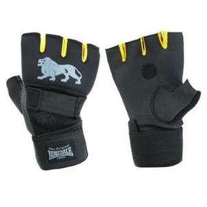 Lonsdale Gel Handwraps - exellent tough mudder / weight lifting / bag gloves £5 plus £3.99 delivery @ sportsdirect