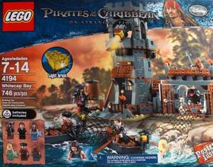 LEGO Pirates of the Caribbean Whitecap Bay 4194 £50.23 @ Tesco Direct
