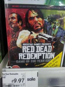 Red Dead Redemption (GOTY Edition) Xbox 360 £9.97 instore @ ASDA