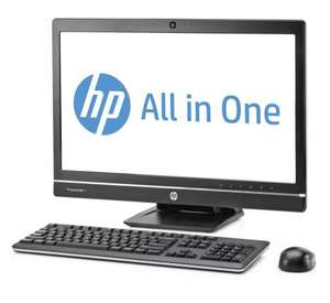 "** HP Compaq Elite 8300 All-in-One PC (Intel i7 3.4GHz 3770 Processor, 4GB RAM, 24 GB SSD, 1TB HDD, 23"" display (1920x1080) Windows 7 Professional 64bit) reduced to £345.74 @ Amazon"
