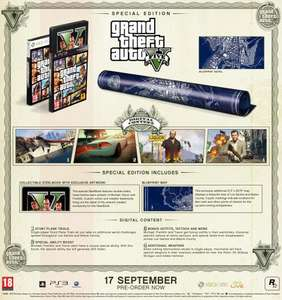 GTA V: Special Edition £50.99 with code VCUKSEPT13 at Game.co.uk