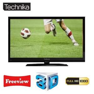 "TECHNIKA 42-8533D 42"" LCD 3D TV HD READY 1080P WITH FREEVIEW WIDESCREEN 50Hz - TESCO REFURB 12 MOTN++NTHS WARRANTY £289.00 @ Ebay/Tesco"