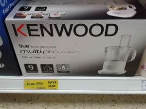 Kenwood Multi Pro Food Processor FPP210 £24 @ tesco instore
