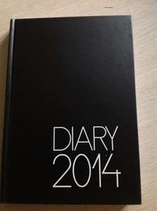 Day by day diary (one page per day)  next year diary £1 @ PoundLand!