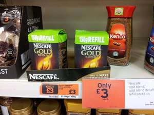 Nescafe coffee £3.00 @ Sainsburys