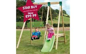 Tp swing and slide set £99.99 @ TP Toys