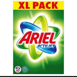 Ariel Actilift Biological Washing Powder 65 Washes 5.2kg - £10 instore @ Tesco