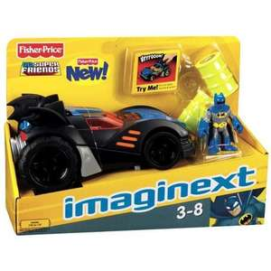 Original Motorized Imaginext Batmobile at Sainsburys instore £7.50 (reduced from £25)