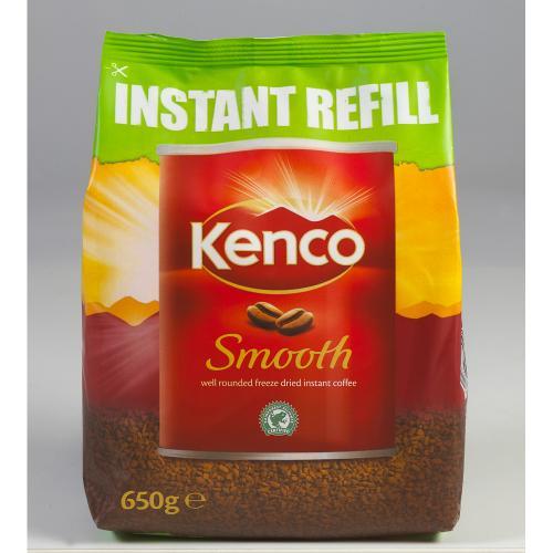 Kenco Smooth Coffee Refill 650g - £8.00 @ Staples + Quidco
