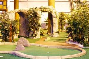 Xscape Braehead Glasgow Paradise Island Adventure Golf: 18 Holes For Two (£6) or Four (£10) (Up to 60% Off) @ Groupon (also Sheffield & Manchester)