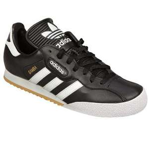 Mens Samba Super Leather Trainer £35.99 delivered at getthelabel.com adidas originals
