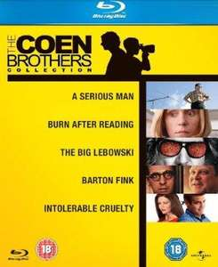 The Coen Brothers Collection [Blu-ray] [Region Free], £8.60 delivered by amazon