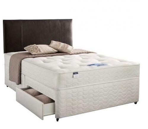 King size Silentnight Platform Top 2 Drawer Divan Bed £248.99 Was £490.00 @ silentnight