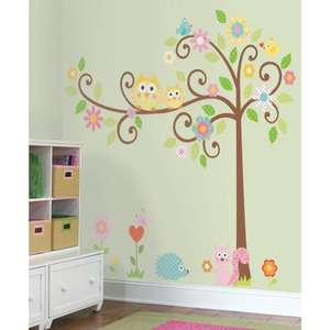 Roommates Repositionable Wall Stickers Scroll Tree RRP £43.99 Only £9.17 @ Amazon