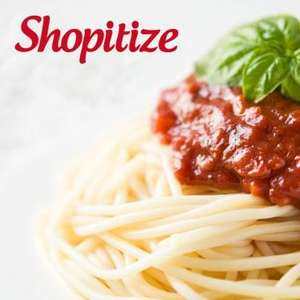 Free items with Shopitize. 2 Dolmio Bolognese sauce, Napolina (Spaghetti or Penne), Totally Chocolatey Rice Krispie squares £1 each at Asda. All free with cashback