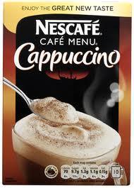 Nescafe Cappucino Un/Sweetened 10 Satchets £1.49 @ Lidl