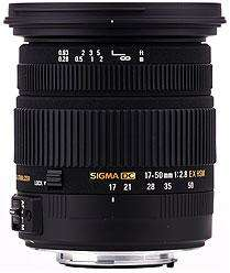 Sigma 17-50mm f2.8 EX DC OS Canon EF-S Fit £309 at Mathers