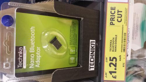 Technika Bluetooth nano dongle £1.25 @ Tesco (instore)