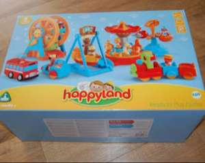 HappyLand Ready To Play Funfair Set £30 @ Mothercare