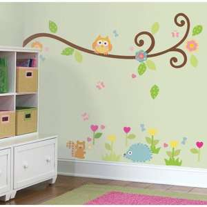 RoomMates Repositionable Wall Stickers Happi Baby Scroll Branch £5.36 @ Amazon (+ £3.30 P&P)