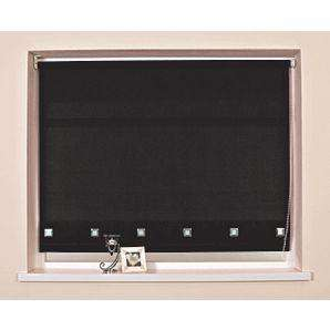 Asda Black Roller Blind. 240cmX160cm Also 210cmX160cm £7.95