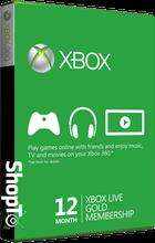 XBox Live 12 Month Gold for £29.86 + 800 MS points + 5 FREE Games (Via Download) @ Shopto.net