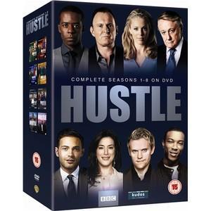 BBC COMPLETE HUSTLE BOX SET Series 1-8 [DVD]  £18.00 BARGAIN AMAZON