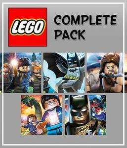LEGO Complete Pack PC (5 Steam Games) £15.98 with code @ GMG