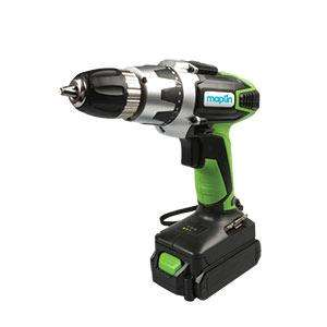 18V Lithium-Ion Cordless Drill Driver £29.99 @ Maplin. Free Delivery