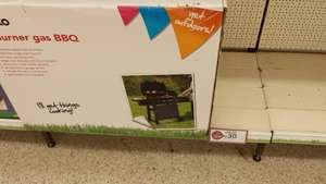 2 Burner Gas BBQ £30.00 @ Wilko